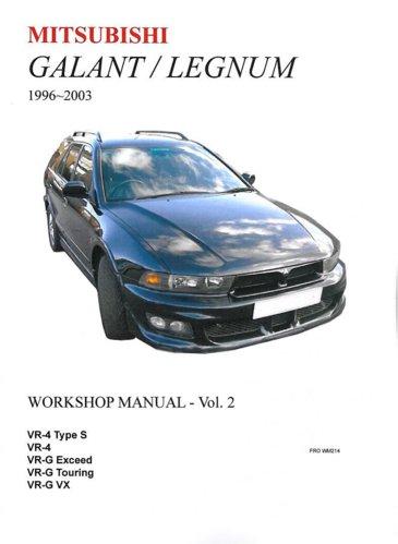 vr4 workshop manual page 14 ozvr4 australia s galant and rh ozvr4 com JDM Mitsubishi Galant VR4 1997 mitsubishi legnum vr4 owners manual