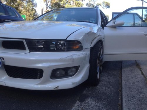 NSW - FL LEGNUM Smashed front end - parts needed :( | OzVR4