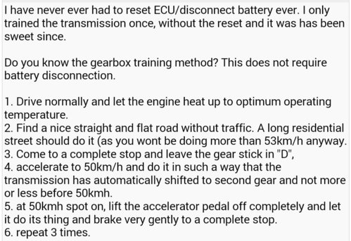 Auto gear changes confused? | OzVR4 – Australia's Galant and